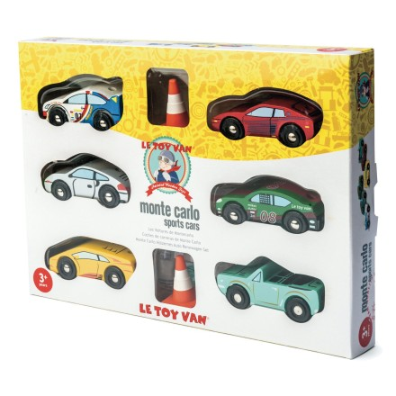 Holzauto-Set Rennwagen 'Montecarlo Sports Car'