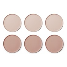 Liewood - Bambus Becher 'Gertrud' Coral blush mix 6er-Set