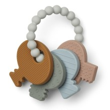 Liewood - Silikon Beißring 'Ian Animal Teether' Tiere Multi mix