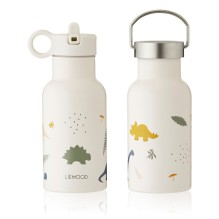 Liewood - Trinkflasche 'Jungle Animals Pink'
