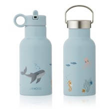 Liewood - Trinkflasche 'Jungle Animals Blue'