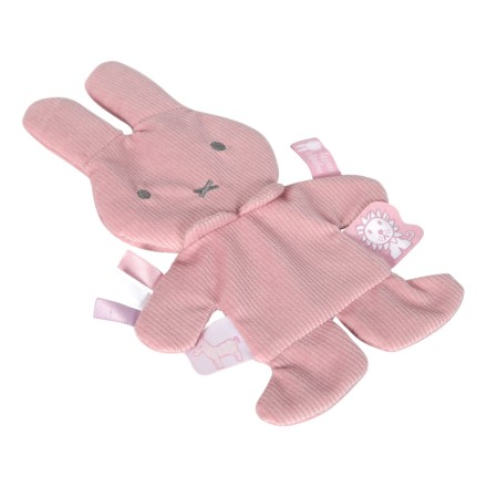 Miffy Knistertuch 'Cord' rosa