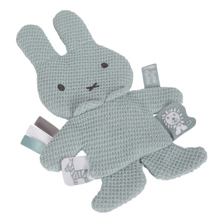 Miffy Knistertuch 'Green Knit'