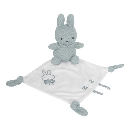 Miffy Kuscheltuch Hase 'Green Knit'