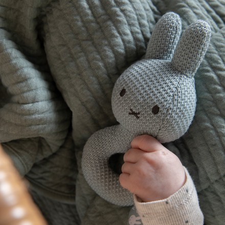 Miffy Rassel Hase 'Green Knit'