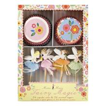 Feen Party Fairy Magic Cupcake-Set von Meri Meri