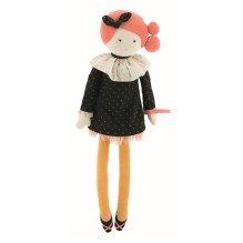 Stoffpuppe 'Madame Constance - Les Parisiennes' von Moulin Roty
