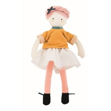 Stoffpuppe 'Mademoiselle Eloise - Les Parisiennes' von Moulin Roty