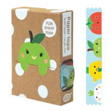 Masking Tape 'Fruit Faces' von noodoll