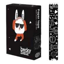 Masking Tape 'Rabbit Black' von noodoll