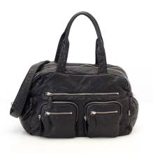 Wickeltasche Carry All Black von OiOi