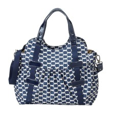 Wickeltasche Pocket Tote Eclipse Dot von OiOi