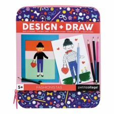 Design & Draw Activity Kit 'Fashionista' von Petit Collage