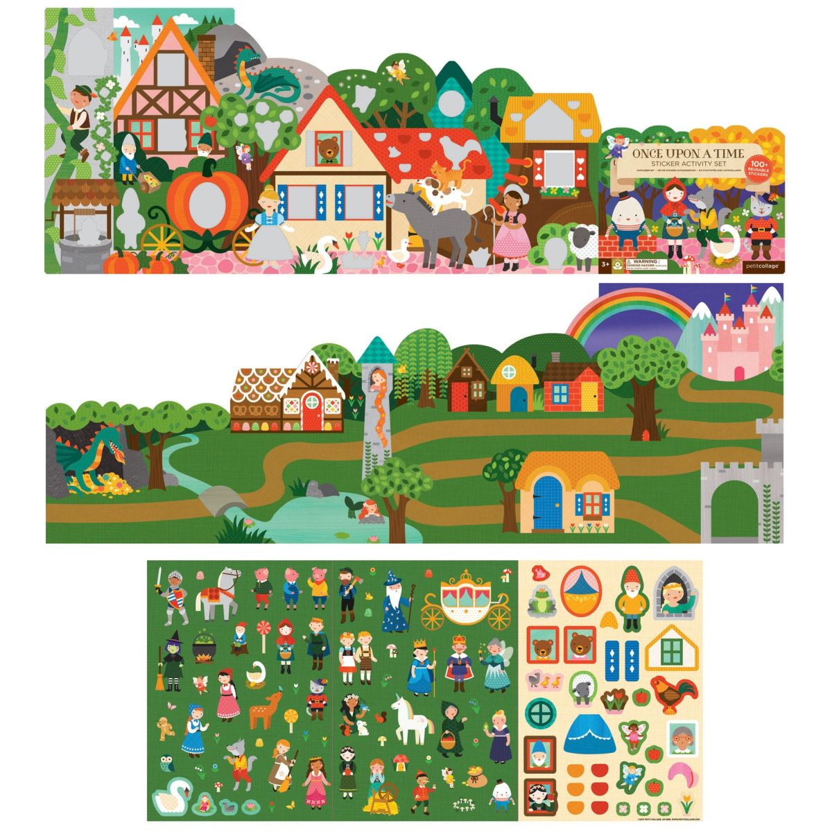 Sticker Activity Set 'Märchen'