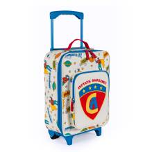 Kinderkoffer Trolley 'Captain Amazing' von Pink Lining