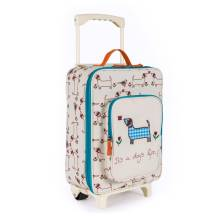Kinderkoffer Trolley 'It's a Dog's Life' von Pink Lining