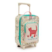Kinderkoffer Trolley 'Raining Cats & Dogs' von Pink Lining