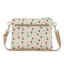 Wickeltasche 'Mum on the Run - Tulips & Forget Me Nots' von Pink Lining