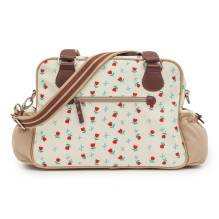 Wickeltasche 'Not so Plain Jane - Tulips & Forget Me Nots' von Pink Lining