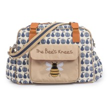 Wickeltasche 'The Bees Knees - Apples & Pears' von Pink Lining