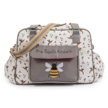 Wickeltasche 'The Bees Knees - Hummingbird' von Pink Lining