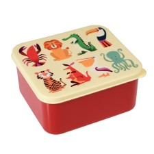 Brotdose Lunchbox 'Colourful Creatures' von Rex International