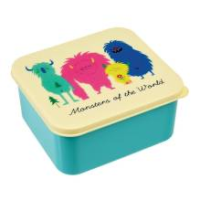 Brotdose Lunchbox 'Monsters Of The World' von Rex International