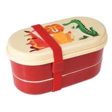 Kinder Bento-Box Lunchbox 'Colourful Creatures' von Rex International
