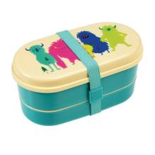 Kinder Bento-Box Lunchbox 'Monsters Of The World' von Rex International