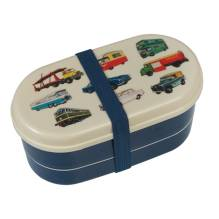 Kinder Bento-Box Lunchbox 'Vintage Transport' von Rex International