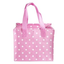 Kinder-Tasche Polkadot rosa von Rex International