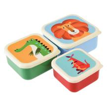Snackboxen 'Colourful Creatures' im 3er-Set von Rex International