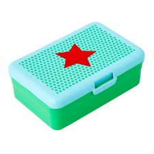 Lunchbox Brotdose 'Boy Star Print' grün von rice
