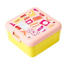 Lunchbox Brotdose 'Grocery Pink' (klein) von rice