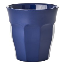 Melamin Becher in Navy Blau von rice