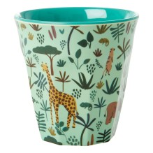 rice - Melamin Kinderbecher 'Jungle Animals' Boy 6er-Set