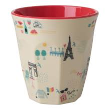 Melamin Becher 'Paris' von rice