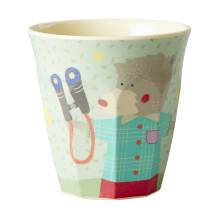 Melamin Kinder Becher 'Boys Happy Camper' von rice