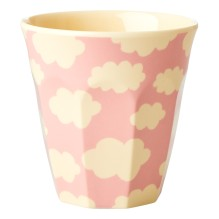 Melamin Kinder Becher 'Cloud' Wolke rosa von rice