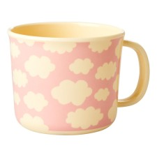 Melamin Kinder Tasse 'Cloud' Wolke rosa von rice