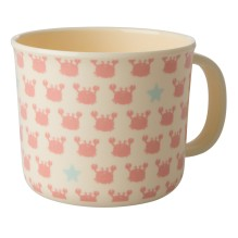 Melamin Kinder Tasse 'Crabs and Starfish' von rice