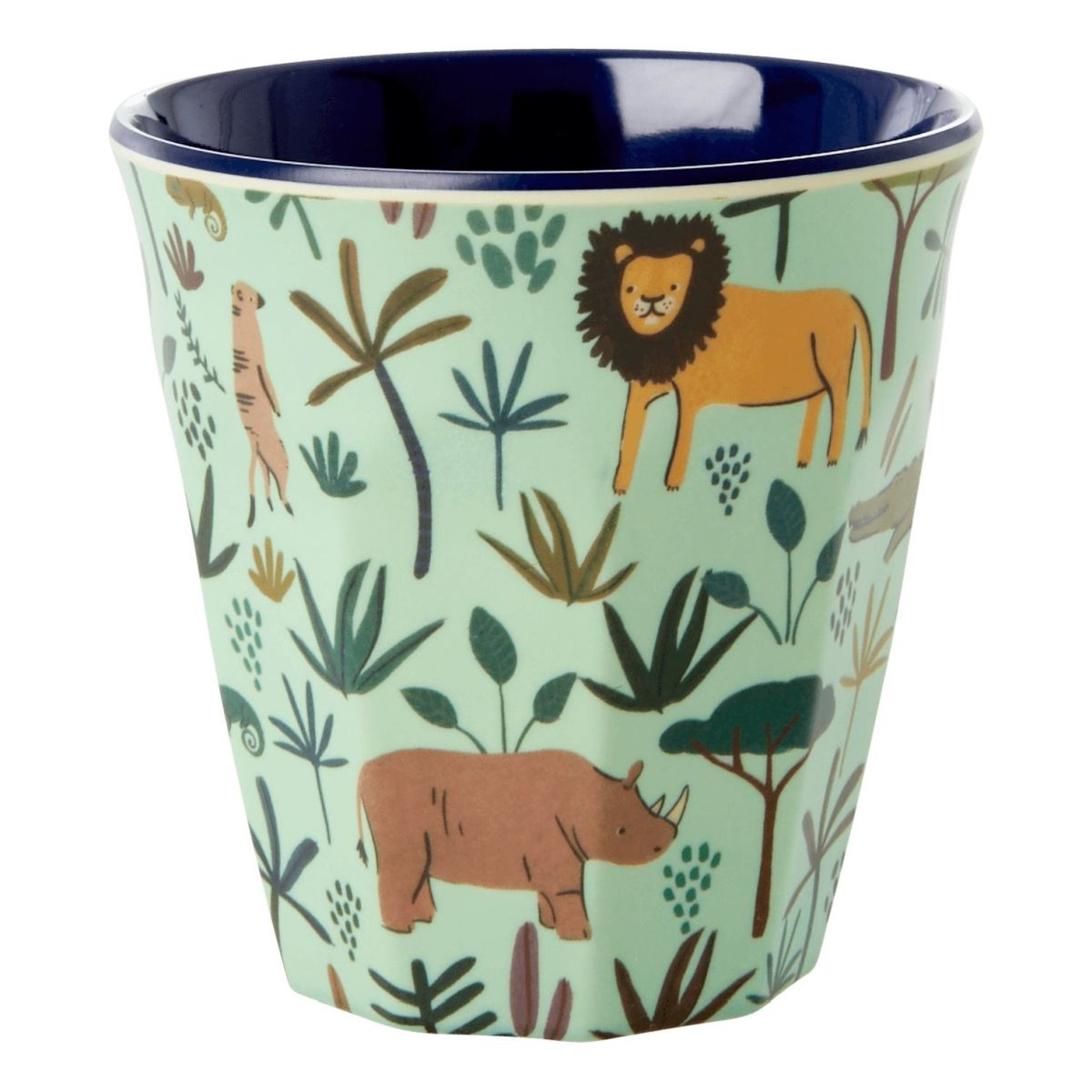 Melamin Kinderbecher 'Jungle Animals' Boy 6er-Set
