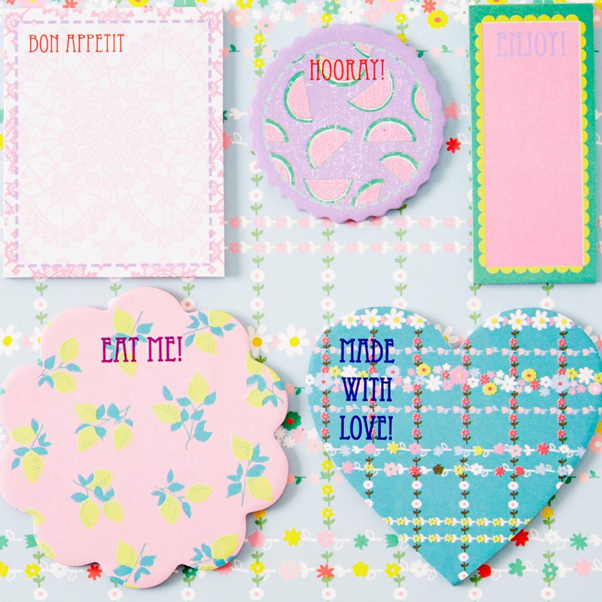 Memo-Sticker Haftnotiz Sweet Sticky Notes