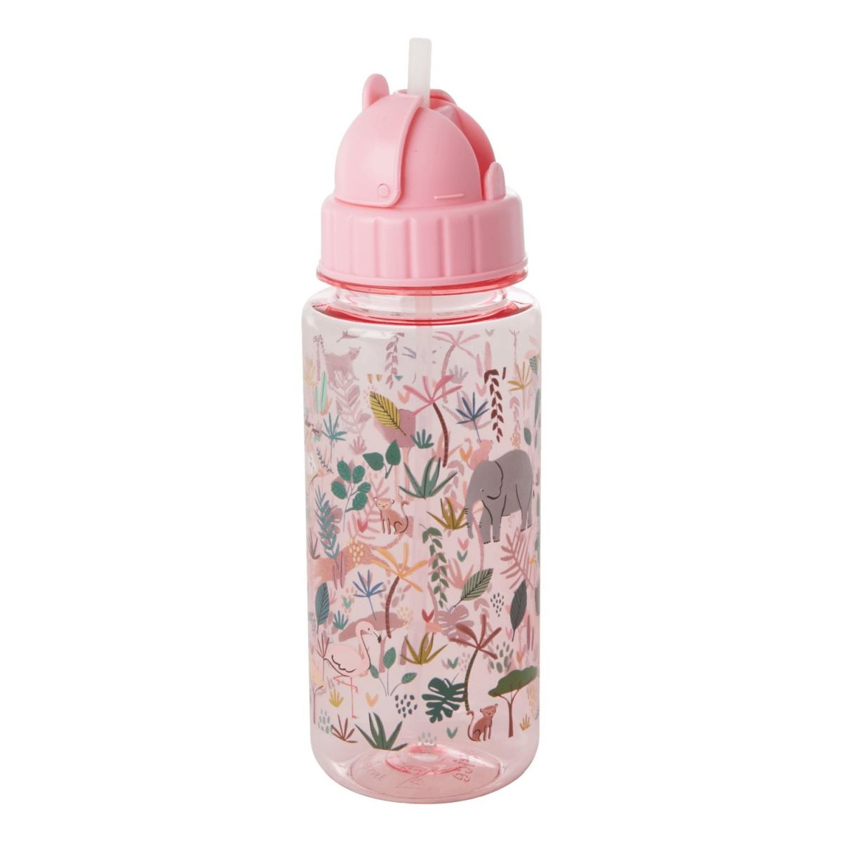 Trinkflasche 'Jungle Animals Pink'