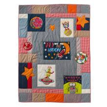 Tagesdecke Quilt 'Fly me to the Moon' 160x220 von Room Seven