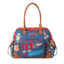 Wickeltasche 'Fly me to the Moon' von Room Seven