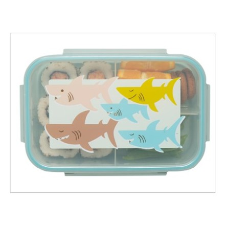 Bento Box Brotdose 'Smiley Shark'