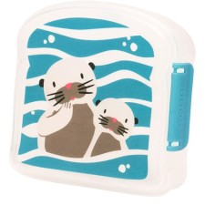 Brotdose Sandwich Box Good Lunch 'Baby Otter' von sugar booger