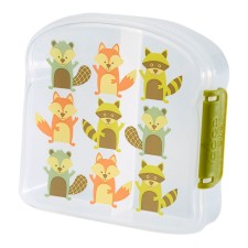Brotdose Sandwich Box Good Lunch 'Fox' von sugar booger