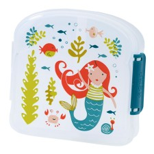Brotdose Sandwich Box Good Lunch 'Isla the Mermaid' von sugar booger